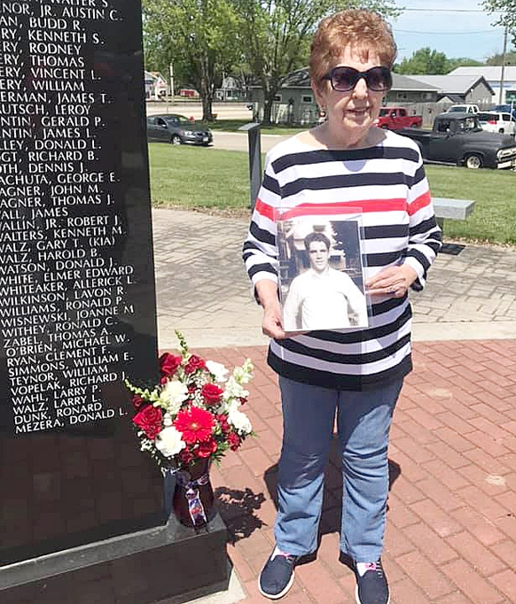 By Correne MartinOn Memorial Day, a local Gold Star mother was presented with flowers in memory of her son who died in the Vietnam War.Lance Corporal Gary Walz was only 21 years old when he was shot on the ground in the province of Quang Nam on May 12, 1969. According to his sister,...