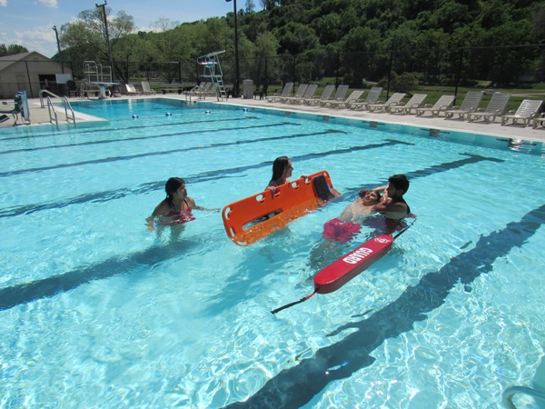 """By Caroline RosackerThe Guttenberg Municipal Swimming Pool opened for the 2021 season on June 3. The pool has 25 full and part time employees and two volunteer staff members. """"Al Ullerich and I serve as the adult volunteers,"""" said volunteer Bec Knudtson. """"City employee Jamie Blume..."""