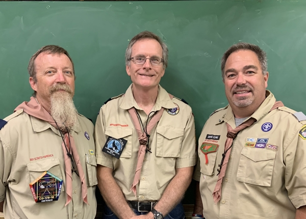 By Caroline RosackerIn 2019, Scout leaders Shane Cline, Robert Kies, and Dr. Scott Scherer attended Wood Badge Training at Camp C. S. Klaus located northwest of Colesburg. The camp is owned by the Northeast Iowa Council of the Boy Scouts of America.Shane ClineScoutmaster Troop 40...