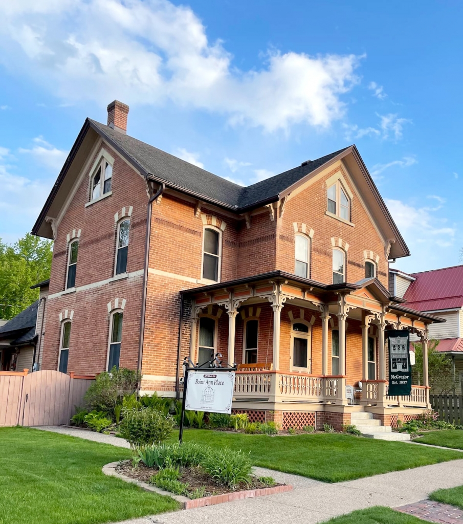By Audrey Posten, Times-RegisterOne of McGregor's most historic homes is remaining a lodging establishment—but with a new name. The Stauer House Bed and Breakfast, located at 629 Main St., is now Point Ann Place, a whole house rental available on the sites Airbnb and Vrbo....