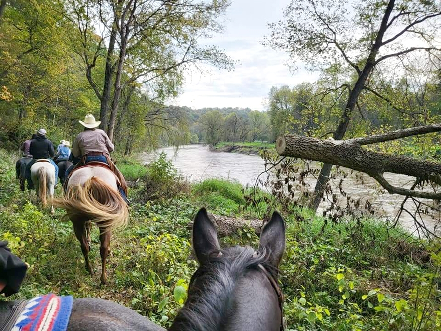 By Willis Patenaude, Times-RegisterThe Whistlin' Bit Saddle Club recently held its 73rd annual trail ride, bringing horse lovers and riders from all over Iowa and as far away as Ohio to the Elkader Horse Arena, where the ride starts and ends. This year's ride, hosted by Dean...